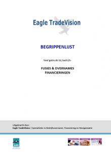 Begrippenlijst Eagle TradeVision