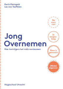 Jong Overnemen 2016_HU Kenniscentrum I&B voorblad