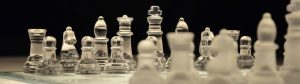Bedrijfsovername is net schaken