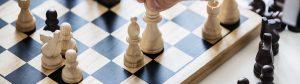 Reorganiseren is net schaken