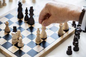 Reorganiseren is schaken